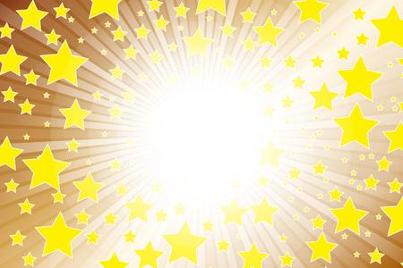 metallic  sun: Wallpaper materials, starburst, main, dust, Stardust, radiation, Fireworks, glitter, shine, metallic, metal, Illustration