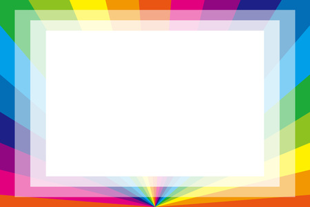 Background material wallpaper, photo frame, photo frame, Rainbow, rainbow color, copy space, colourful, fun, tags