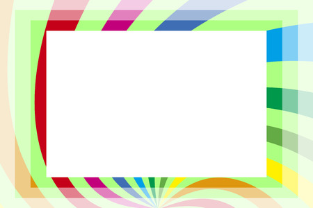 ad space: Background material wallpaper, photo frame, photo frame, Rainbow, rainbow color, copy space, colourful, fun, tags
