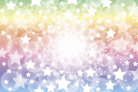 way out: Blur background material wallpaper, night sky, Stardust, Stardust, universe, milky way, milky way,, yawaraka, fun, happy, active Illustration