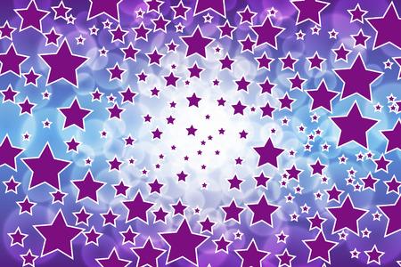 milky way: Blur background material wallpaper, night sky, Stardust, Stardust, universe, milky way, milky way,, yawaraka, fun, happy, active Illustration