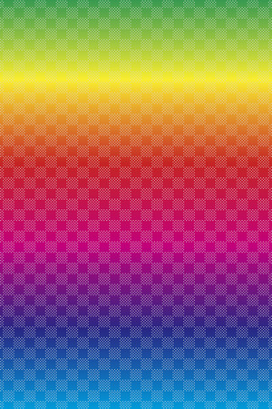 Wallpaper material, pocked it, Plaid, polka-dot pattern dither pattern, decorations, wrapping paper Illustration