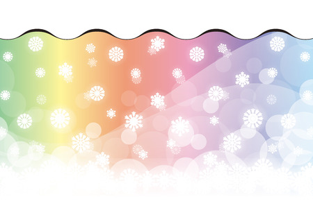 prisma: Crystal Wallpaper material, snow, winter, landscape, light, sparkle, glitter, Christmas, decoration, snow, snow, party