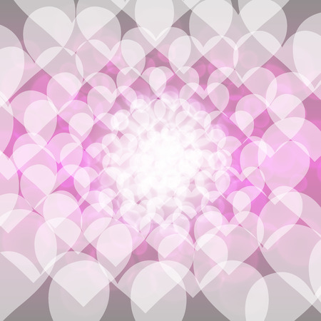lag: Background material wallpaper, heart pattern, love, clarity, pastel colors, symbols, colorful, blur, light, pattern Illustration