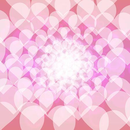 Achtergrondmateriaalbehang, hartpatroon, liefde, duidelijkheid, pastelkleuren, kleurrijke symbolen, onduidelijk beeld, licht, patroon Stockfoto
