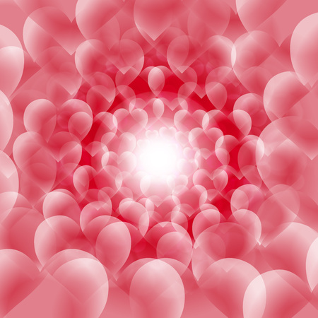 Background material wallpaper, heart pattern, Valentines day, white day, light, shine, spiral, spiral cute, love, love