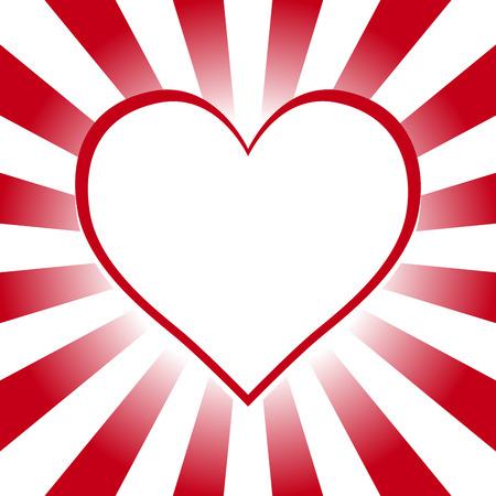 heartshaped: Background material wallpaper, heart, heart pattern, heart-shaped, love, love, advertising, propaganda, poster, flyer, pop art Illustration