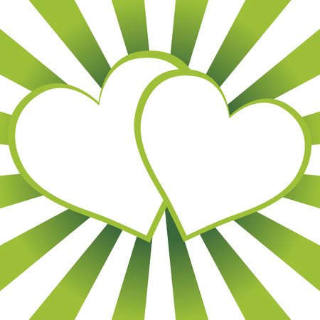 Background material wallpaper, heart-shaped. Illustration