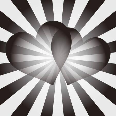 Hintergrundmaterial Tapete, Herz, Herz-Muster, Herzform ...