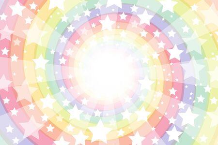Background material wallpaper, Roly, intensive line, light, bright, spiral, Rainbow, Rainbow, radial, Stardust, Stardust, milky way Ilustração