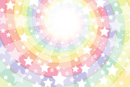 eddy: Background material wallpaper, Roly, intensive line, light, bright, spiral, Rainbow, Rainbow, radial, Stardust, Stardust, milky way Illustration