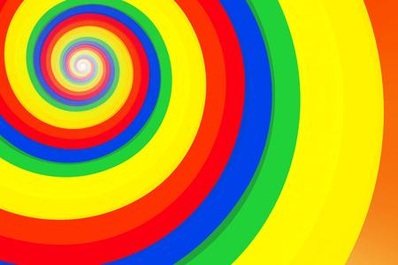 壁紙背景素材、スペクトル、プリズム、虹、虹、スパイラル、スパイラル、スパイラル パターン、スパイラル、光 写真素材 - 75840826