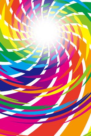 Background material wallpaper, heart pattern, patterns, patterns, patterns, party, light, sparkle, glitter, swirl, spiral, spiral Illustration