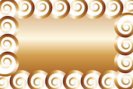 Background material, photo frame, photo frame, picture frames, card, nametags, price, price tag, spiral, spiral, Illustration