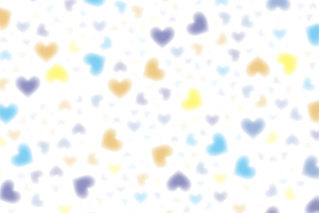 lag: Wallpaper material, heart, patterns, pattern, pattern, heart-shaped, love, affection, Pastel-colored, cute, blur Illustration