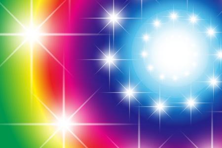Wallpaper materials, light, shine, glitter, swirl, spiral, spiral-shaped, spiral patterns, starry sky, night, colorful, material Banco de Imagens - 79524118