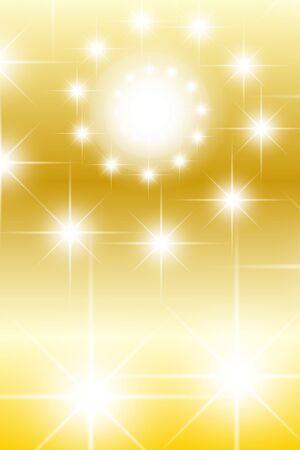 Background material, light, sparkle, glitter, swirl, spiral, spiral, colorful, material, vertical, vertical, Stardust, Star Illustration