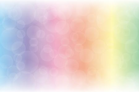 Wallpaper material, foam, bubble, underwater, sea, transparency, blur, blur, glow, light, light, deep, bubble, copy space Illustration