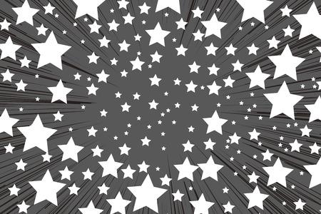 Fkidashi wallpaper material, intensive line, cartoon, comic, comics, anime, callouts, lines, words, copy space