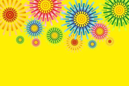 Fireworks image, Fireworks, StarMine, summer image, Festival, Japan, tradition, copy space, Fireworks