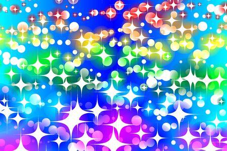 Wallpaper materials, illumination, light, sparkling, milky way, Stardust, Stardust, starburst, Galaxy, universe Illustration