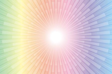 Materiali da parati, radiazioni, radiazioni, radiazioni, radiazioni, luce, raggi, brillanti, scintillanti, Halo, universo di Halo, linea intensiva, Fuochi d'artificio, Archivio Fotografico - 90150931