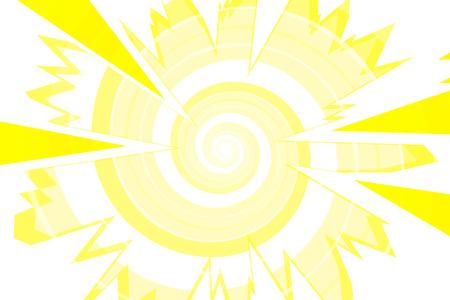 Background material, intensive line, cartoon, animation, expression, speech bubbles, lines, spirals, spin, spiral, spiral Stock Illustratie