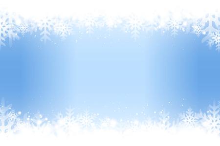 Blue snowflakes abstract pattern design. Illusztráció