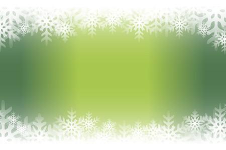 Background material, blur, soft focus, snow crystals, rime, winter landscape, pastel colors, decoration, light, shine. Illusztráció