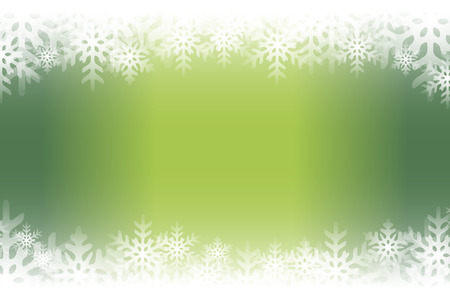 Background material, blur, soft focus, snow crystals, rime, winter landscape, pastel colors, decoration, light, shine. Illustration