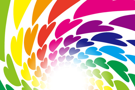 Wallpaper materials, spirals, spiral, Central line, Ray, hearts, glitter, light, wind, happy, love, images
