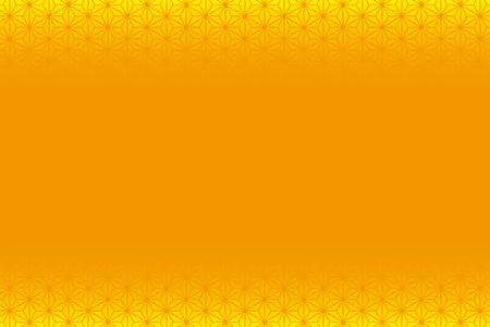 オレンジ色の黄色の背景素材。