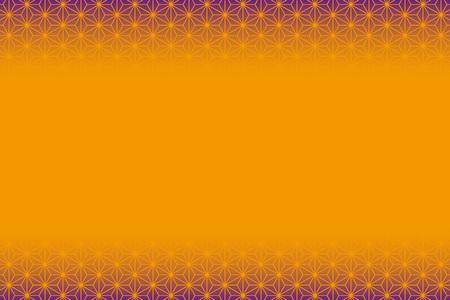 オレンジ色の背景素材。  イラスト・ベクター素材