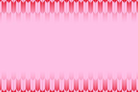 日本のパターンピンクの背景デザイン。