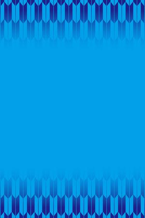 Blue-colored fletching pattern design Illustration