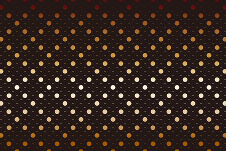 Polka dots background wallpaper material. Vector illustration.  イラスト・ベクター素材