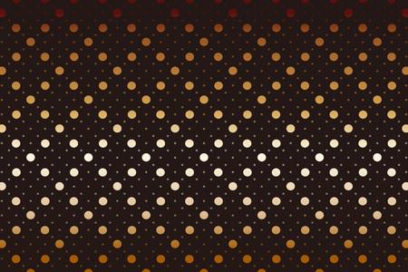 Polka dots background wallpaper material. Vector illustration. Vectores
