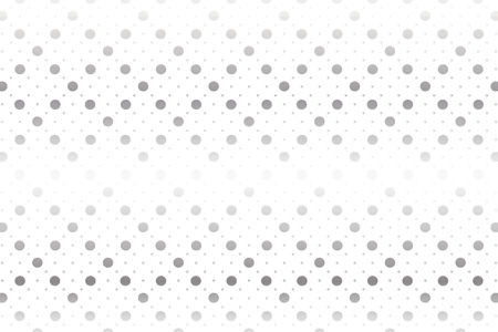 Polka dots background wallpaper material. Vector illustration. Ilustração