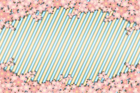 Background material wallpaper, spring, cherry blossom petals, bloom, trees, Sakura, Japanese, striped like, matriculation, graduation ceremony, celebration, celebrations, landscape