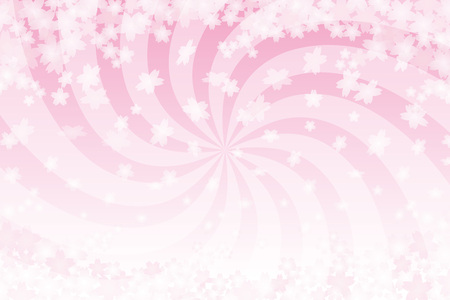 Background material wallpaper, Japanese cherry blossom petals, cherry trees, spring, blossoms, swirl, intensive line, free, advertising, publicity, free, spiral