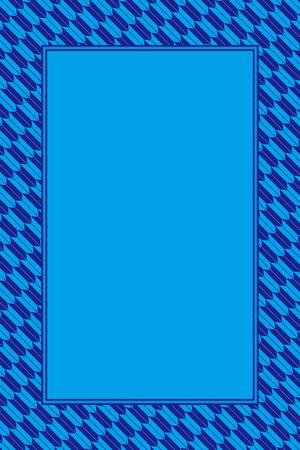 Blue and dark blue frame vector illustration