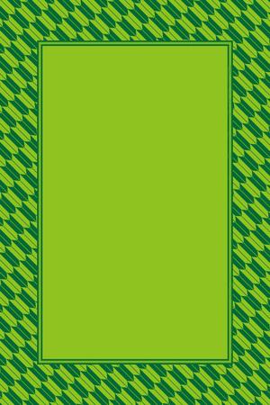 Green and light green frame vector illustration