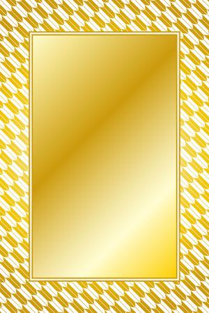 Photo frame with geometrical patterns Standard-Bild - 97856126