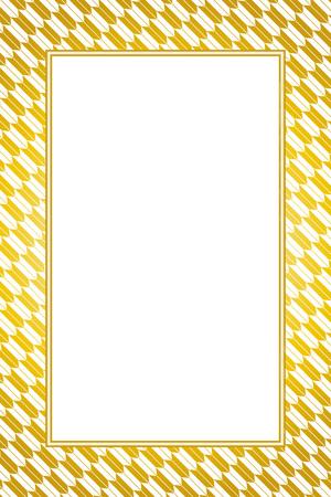 Wallpaper material with gold color frame Standard-Bild - 103542272