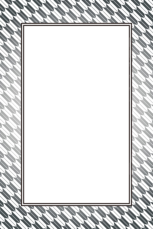 Wallpaper material with grey color frame Illustration