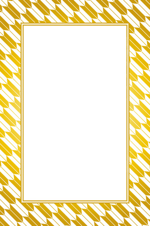 Wallpaper material, Japanese, photo frame, Ryu, suiginto, arrows, traditional patterns, admission, graduation, Quinceanera, long-sleeved dress, photo frame Stock Vector - 98041269