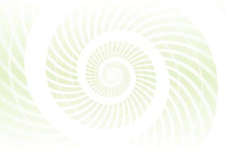 Light green spiral abstract pattern design