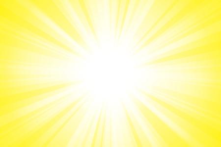 yellow Shining beam light background material Vector illustration. Imagens - 99874634