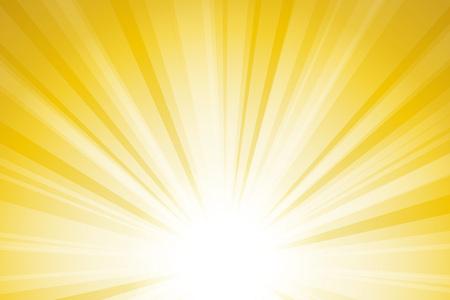 Material de base, línea intensiva, Flash, energía, rayo, sol, radiación, esperanza, oportunidad, brillante, cielo, libertad, futuro, luz Ilustración de vector