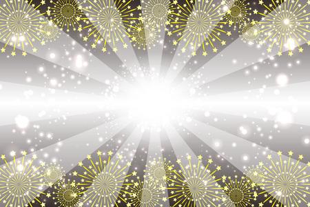 Wallpaper materials, StarMine, explosion, Fireworks Festival, Stardust, milky way, glitter, light, image Stock Vector - 103404661